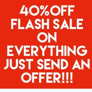 40% OFF EVERY ITEM